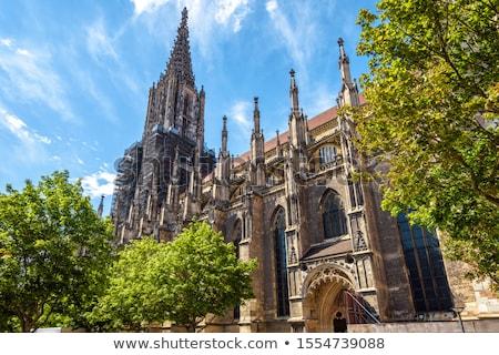 Buitenkant kathedraal Duitsland Europa kerk Stockfoto © kyolshin
