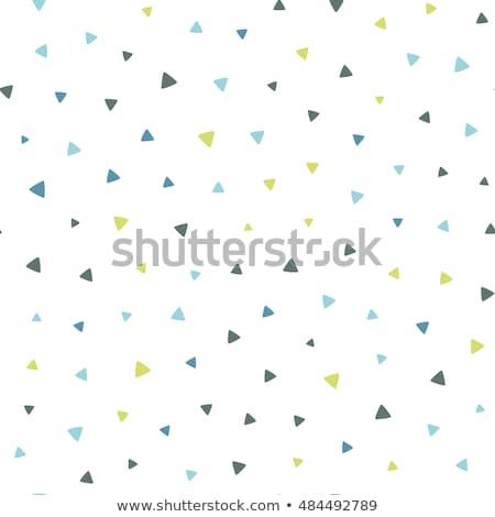 Cute pequeño patrón blanco establecer pared Foto stock © SArts