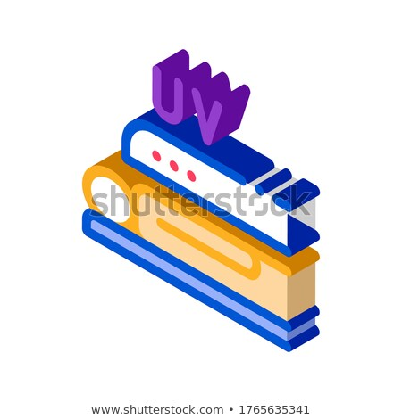 Tanning in Solarium isometric icon vector illustration Stock photo © pikepicture