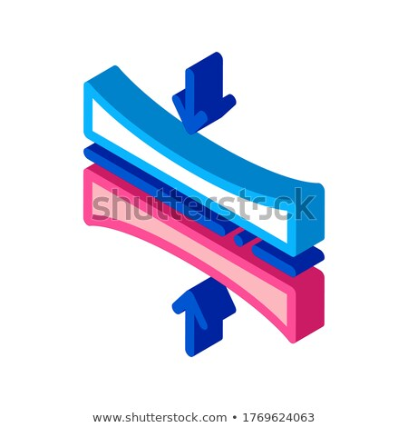 Diaper Thin Layer isometric icon vector illustration Stock photo © pikepicture