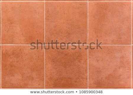 Perspective of Square red tiles Stock photo © nuttakit