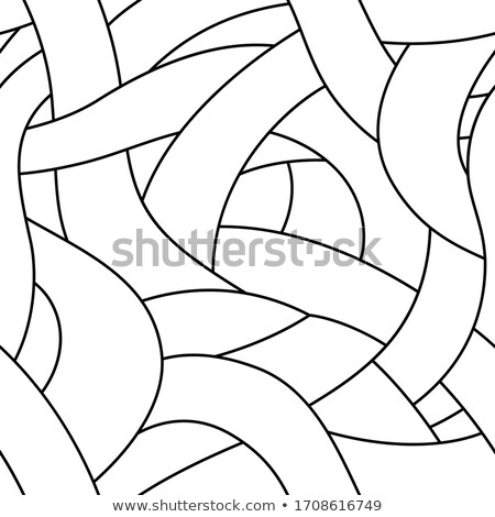 Seamless tangles pattern Stock photo © sahua