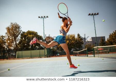 女性 ボレー ボール 美しい スポーティー ストックフォト © dash