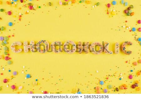 Gyönyörű barna hajú nő étvágy csokoládé lány Stock fotó © lovleah