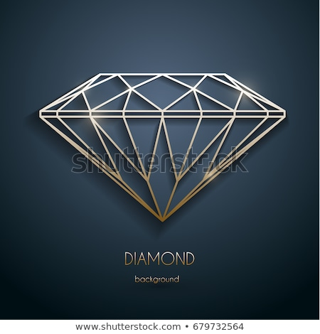Diamond outline Stock photo © nicemonkey