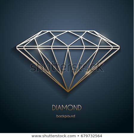 diamond outline stock photo © nicemonkey
