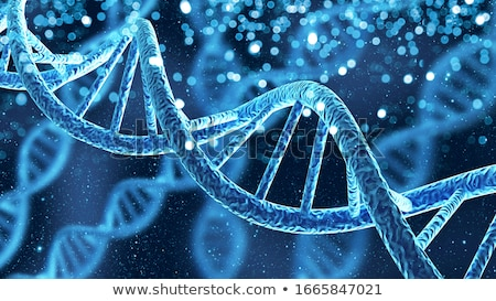 Gen dna 3D abstract medische Stockfoto © nasirkhan