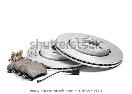aleación · rueda · establecer · aislado · blanco · primer · plano - foto stock © marekusz