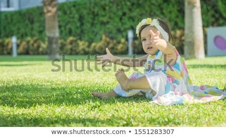 ethniques · fille · bras · nature · séduisant - photo stock © ampyang