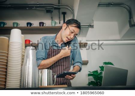 серьезный · деловая · женщина · вызова · женщину - Сток-фото © photography33