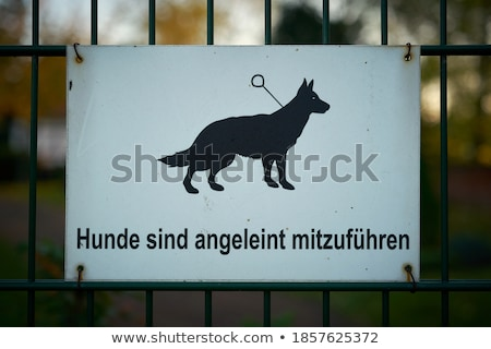 Animal priority signs Stock photo © DeCe