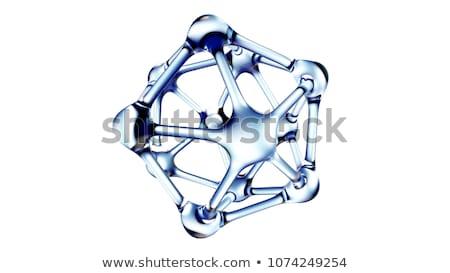 ДНК белый компьютер генерируется изображение технологий Сток-фото © blotty