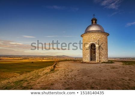 A chapel of Saints Cyril and Methodius Stock photo © pavelmidi