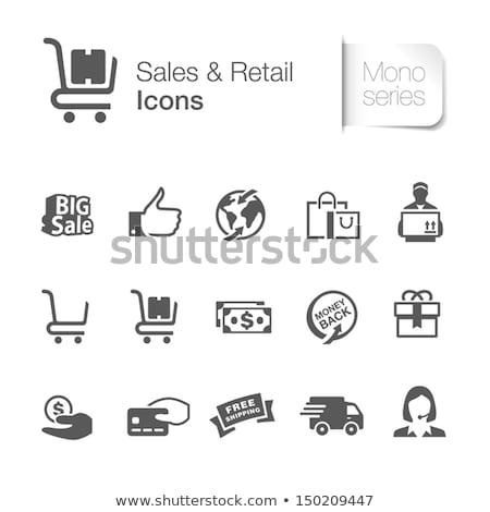 Stockfoto: Wereldwijd · garanderen · icon · ontwerp · Blauw · goud