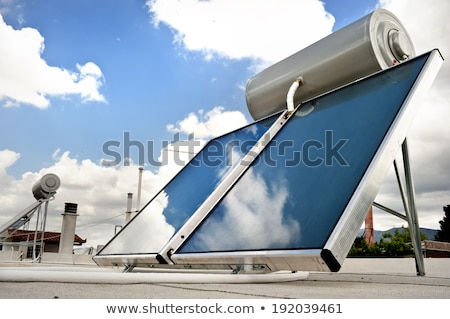 solar water heating system stock photo © papa1266