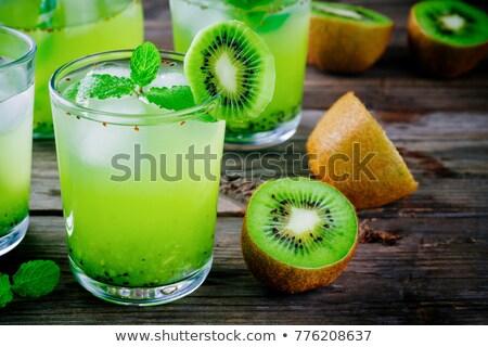 Foto stock: Kiwi Drinks