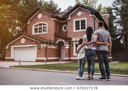 Couple looking at their new home Stock photo © photography33