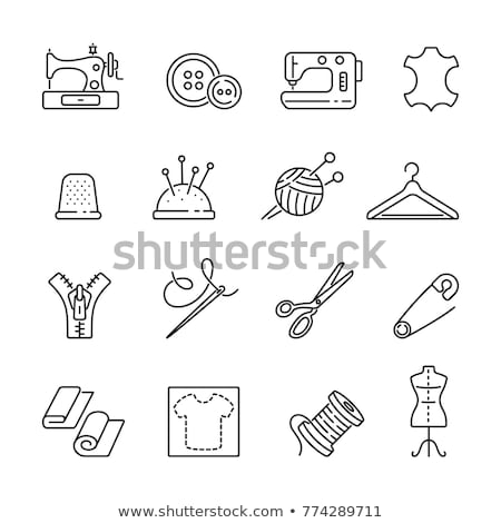 Sewing icons Stock photo © malexandric