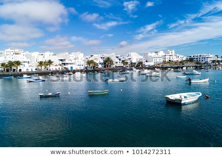 Arrecife Lanzarote boats in harbour at Canaries Stock photo © lunamarina