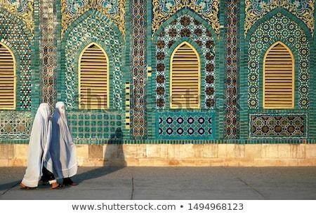 kleuren · Afghanistan · jas · armen · kaart · vlag - stockfoto © perysty