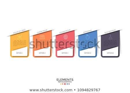 Project text and boxes stock photo © marinini