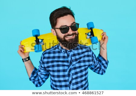 Man with blue sunglasses Stock photo © photography33