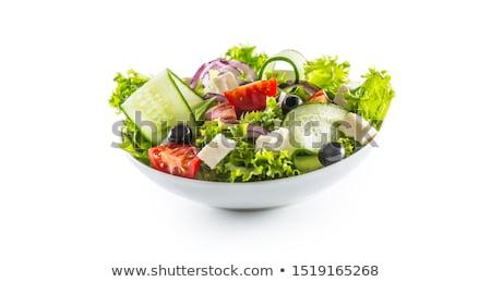 Delicious Salad closeup Stock photo © zhekos