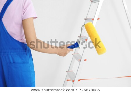 Young female decorator Stock photo © photography33