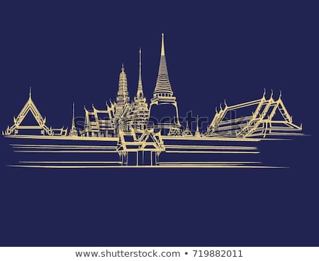 Old temple of Thailand Stock photo © Witthaya