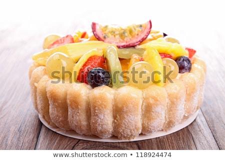 vla · vruchten · gebak · vers · fruit · vers · zoete - stockfoto © m-studio