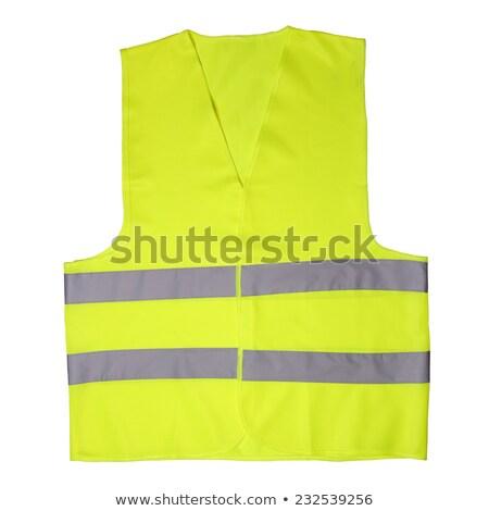 флуоресцентный куртка работу работник Сток-фото © stockyimages