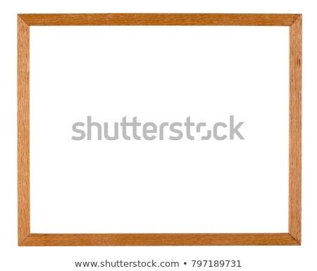 Paisagem quadro de imagem grande isolado Foto stock © winterling