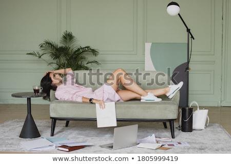 деловая · женщина · бизнеса · работу · ноутбука · веб - Сток-фото © photography33