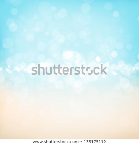 Blurred bokeh nature background with sea cost Stock photo © karandaev