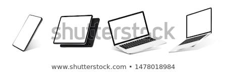 3D · компьютер · телевизор · экране · телевидение · экране · компьютера - Сток-фото © daboost