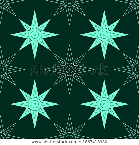 Metal · star · halka · içinde · 3d · illustration - stok fotoğraf © shawlinmohd