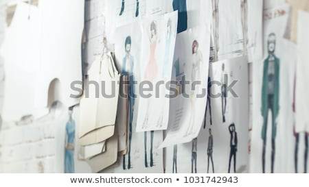 Woman in Haute Couture Fashion Stock photo © Discovod