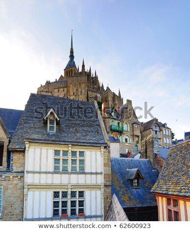 Detail of Mont Saint Michel in Brittany Stock photo © CaptureLight