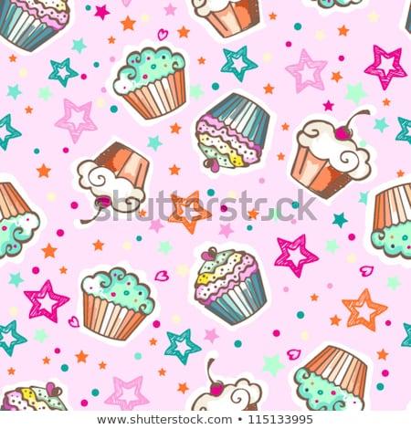 Kinderachtig textuur voedsel kind Stockfoto © balasoiu