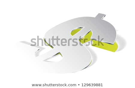 Paper folding with Dollar symbol in perspective view Stock photo © archymeder