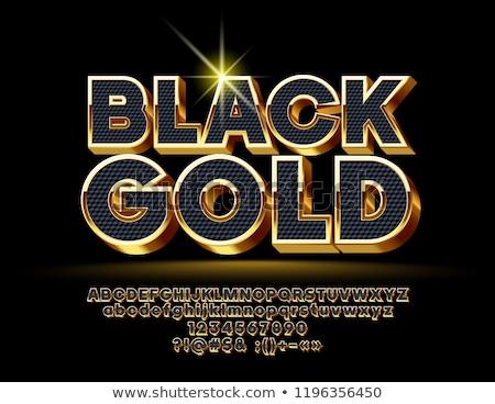 3D diamant lettre noir lettre i isolé Photo stock © 123dartist