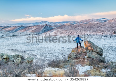winter hiking at Natural Fort Stock photo © PixelsAway