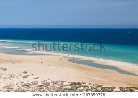 Praia canárias Espanha ver destino Foto stock © nito