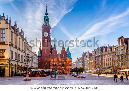 cityscape of Wroclaw, Poland Stock photo © neirfy