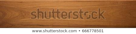 teak wood decorative surface Stock photo © scenery1