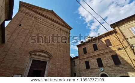 église médiévale château faible italien ville Photo stock © rglinsky77