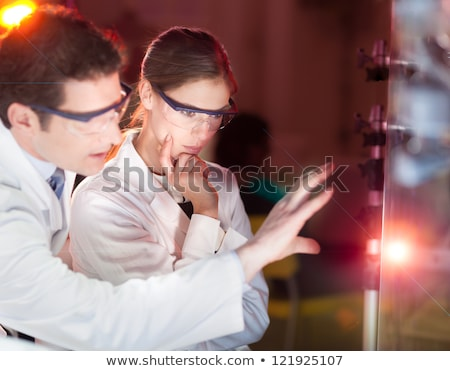 engineers focusing on the discovery stock photo © kasto