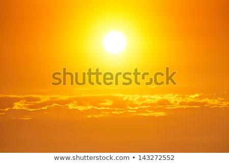 yaz · satış · turuncu · gökyüzü · güneş - stok fotoğraf © ustofre9