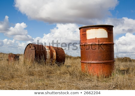Fifty five gallon drum Stock photo © njnightsky