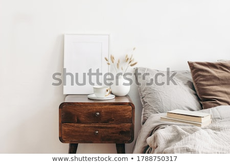 vintage bedside table Stock photo © ssuaphoto